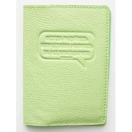 Обложка на водительские документы -Всегда радуйтесь. Непрестанно молитесь... зеленый-салатовый