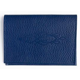 """Обложка на паспорт из натуральной кожи """"Стайка рыбок"""" (цвет в ассортименте)"""