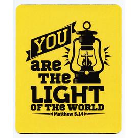 Коврик для мыши 22х18см -  You are the light of the world