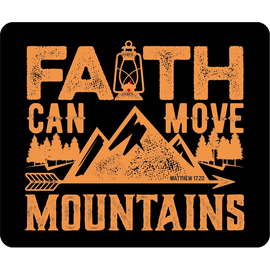 Коврик для мыши - Faith can move mountains