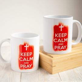 Кружка «Keep calm and pray»